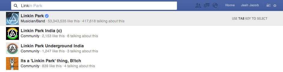 searchlisting-verified profiles