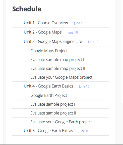 schedule-techzei-mappingwithgoogle