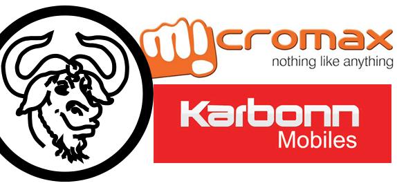Micromax, Karbonn Mobile And GPL Violations