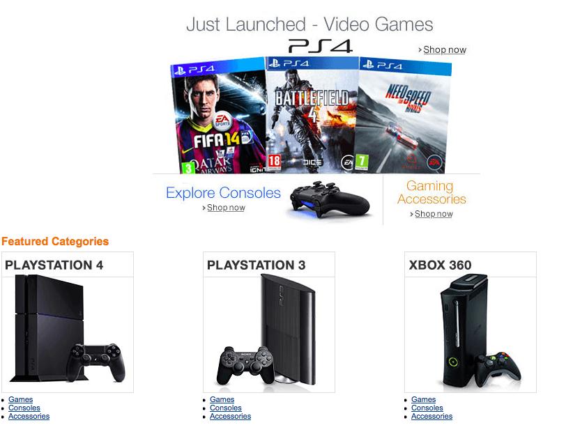 Amazon India Gaming