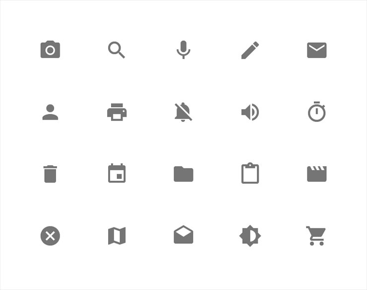 System Icons - Android L User Interface - Techzei
