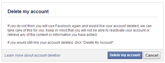 How To delete Facebook account Instantly