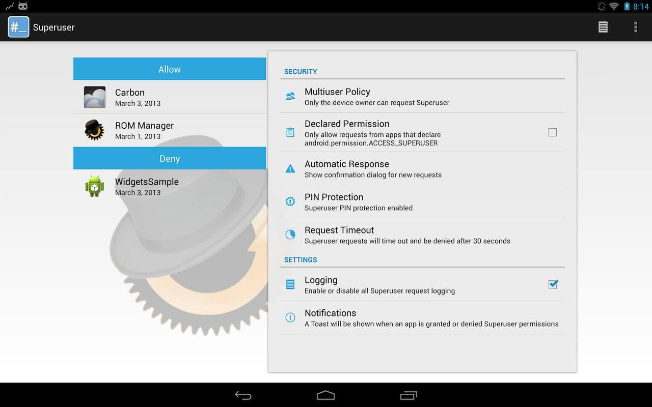 Top 10 Apps for Rooted Android Phones - superuser