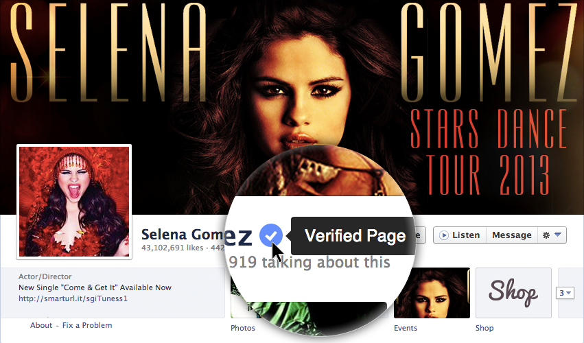 selena-gomez-verifiedpage-techzei-facebook
