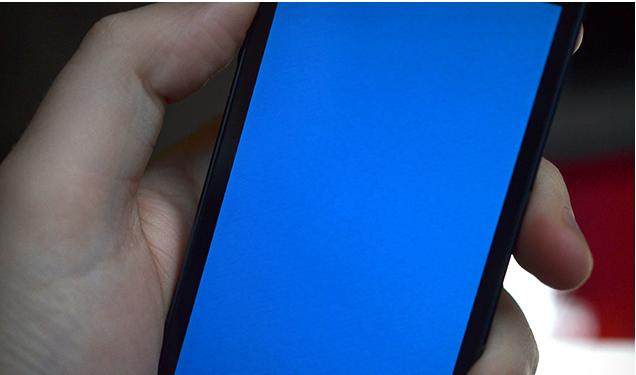 how to stop blue screen of death on iphone