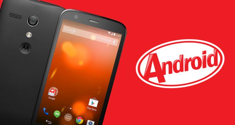 Update Moto G Dual Sim XT1033 To KitKat 4.4