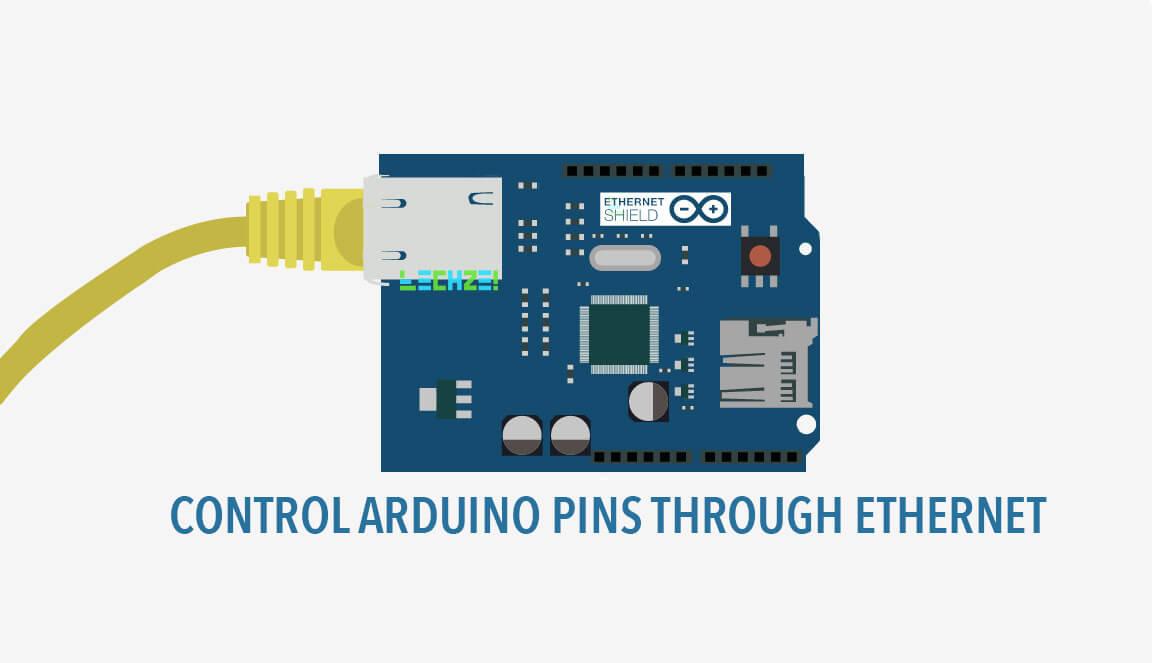 How to control arduino through ethernet
