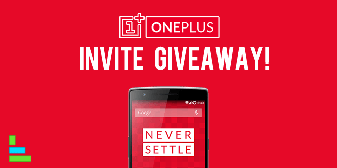 OnePlus 20,000 Invitations Give away