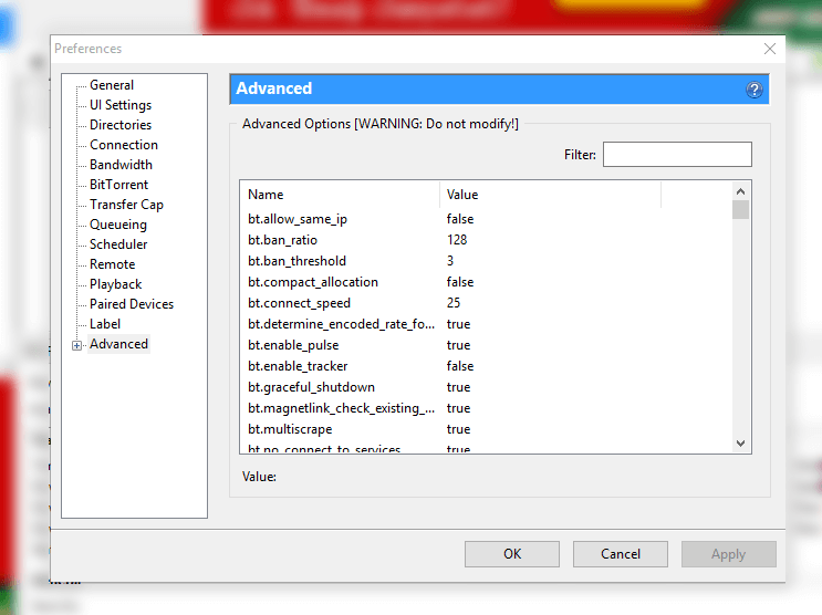 How to disable ads on uTorrent - Step-1