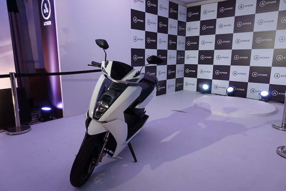 Ather announces S340, India's first Smart Electric Scooter
