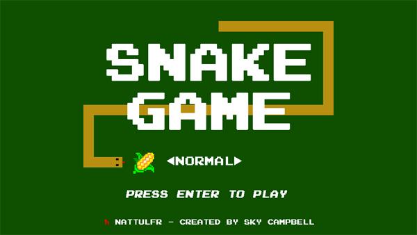 snakeGame-techzei